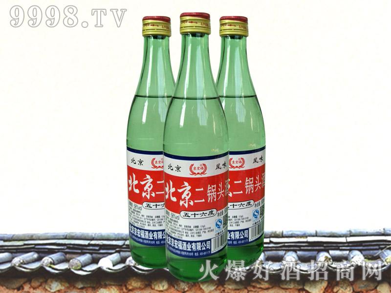 京宏福北京二锅头酒500ml(绿)