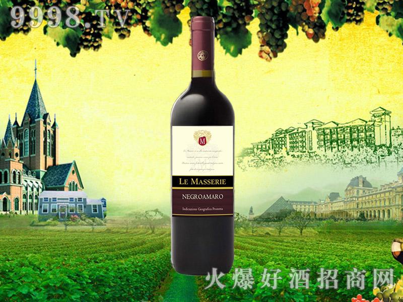乐玛仕黑曼罗干红葡萄酒