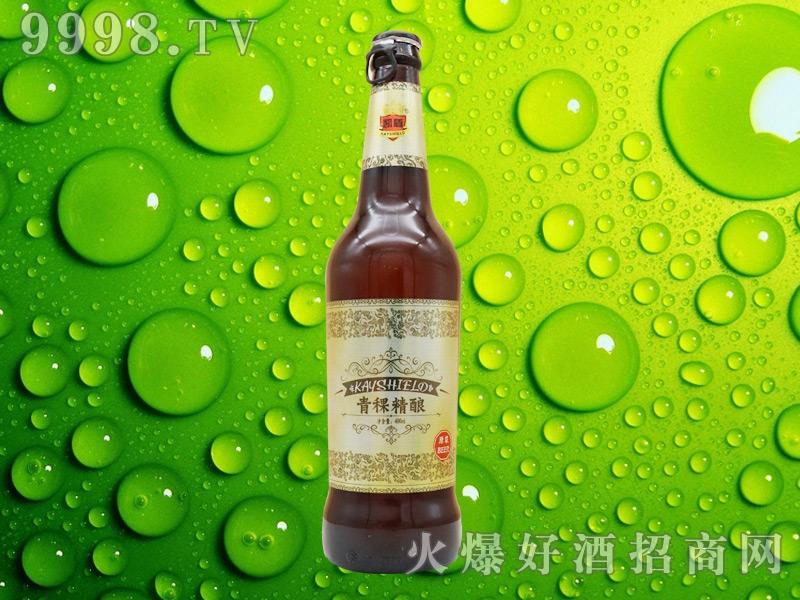 凯盾青稞精酿啤酒496ml