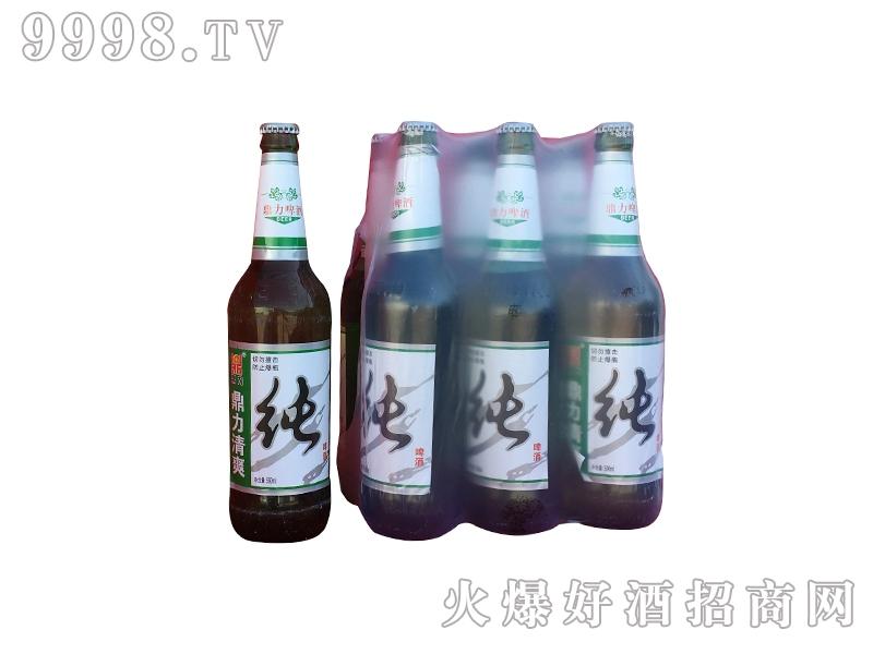 鼎力清爽纯啤酒瓶装