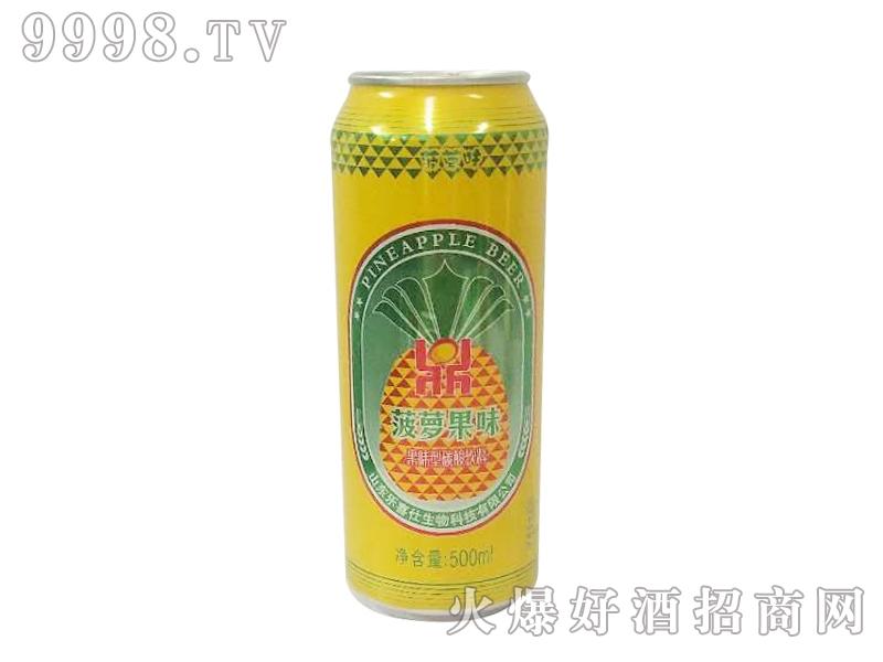 鼎力啤酒菠萝果味易拉罐