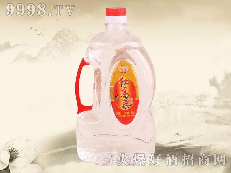 万顺红高粱白酒2.15L