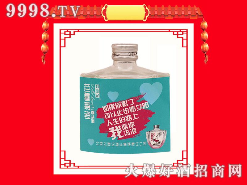 刘壶记芭蕾舞者二锅头酒(蓝瓶)