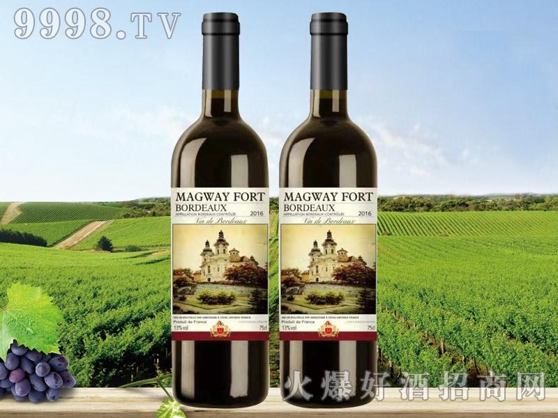 法国玛格威堡凯旋波尔多干红葡萄酒