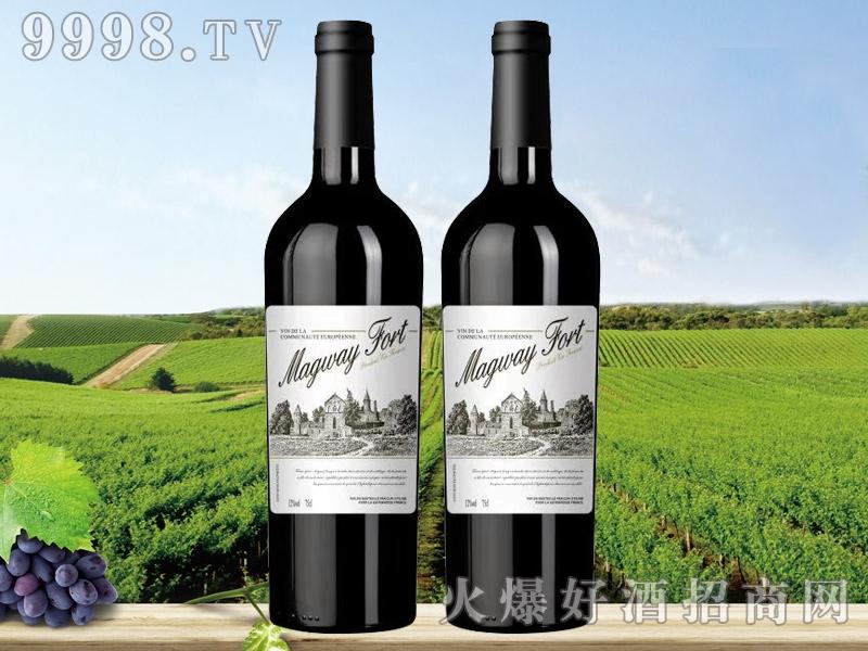 法国玛格威堡干红葡萄酒