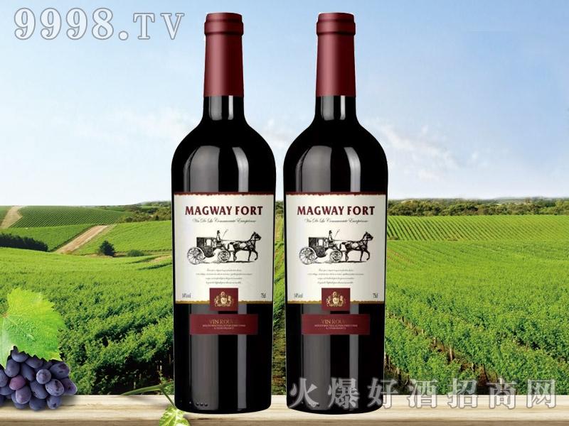 法国玛格威堡波尔多干红葡萄酒