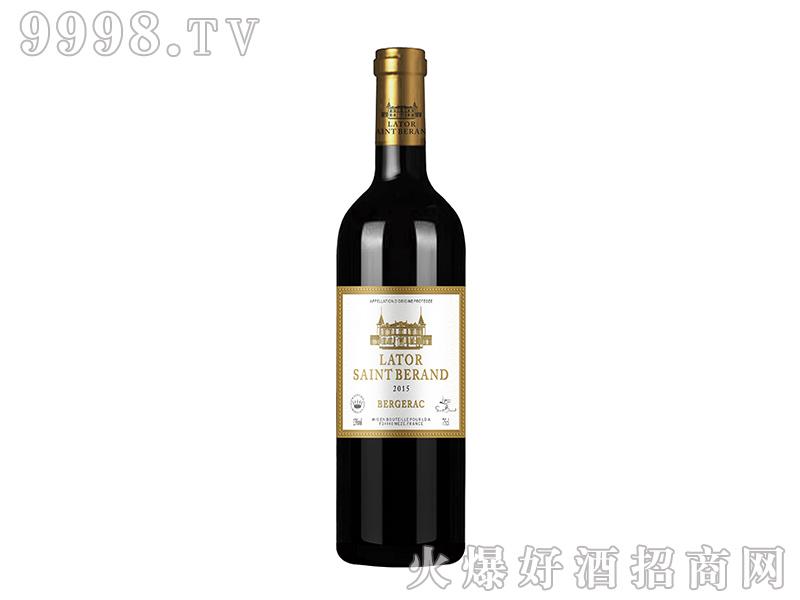 拉图圣莫伯特・拉古洛干红葡萄酒