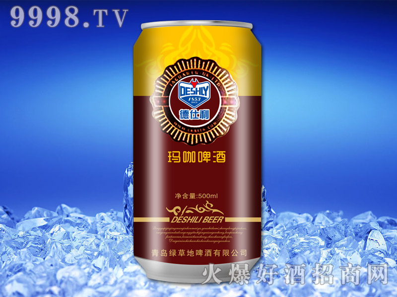 500ML*12玛咖啤酒金红