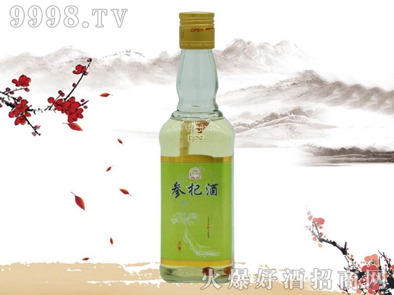 郑家坊参杞酒绿标