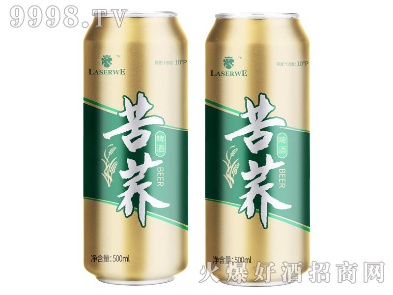 澜圣威苦荞啤酒10度500ml罐装