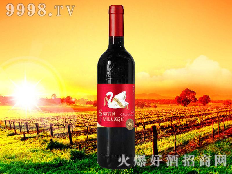 西澳天鹅赤霞珠干红葡萄酒