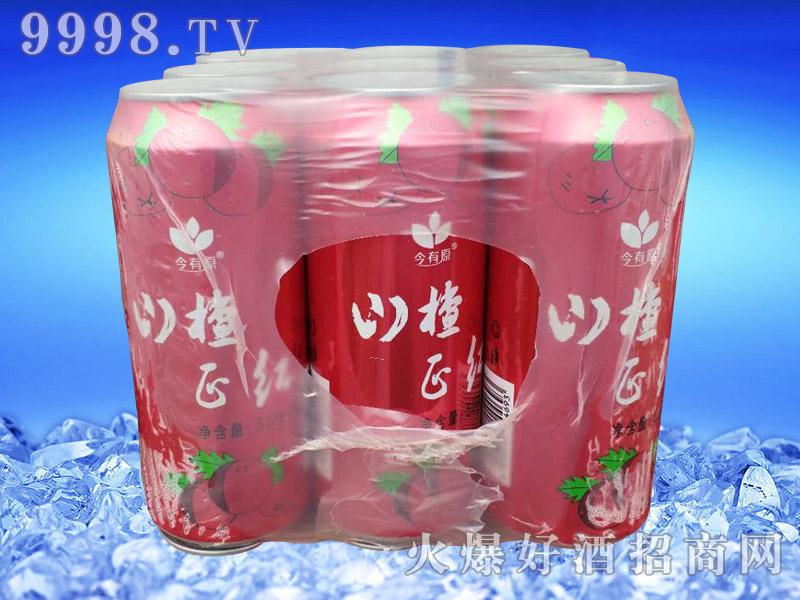 山楂红果味饮料