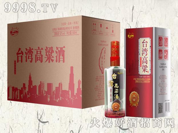 台湾高粱酒・典藏43度500mlx6盒(红)