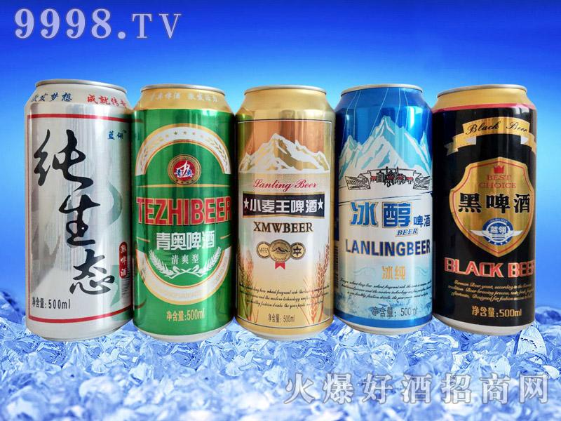 500ml啤酒