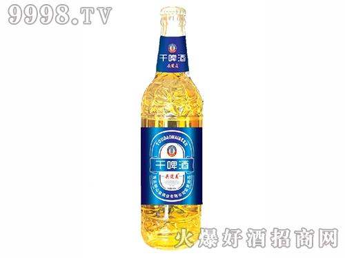 500ml头道麦干啤(1*12瓶箱)