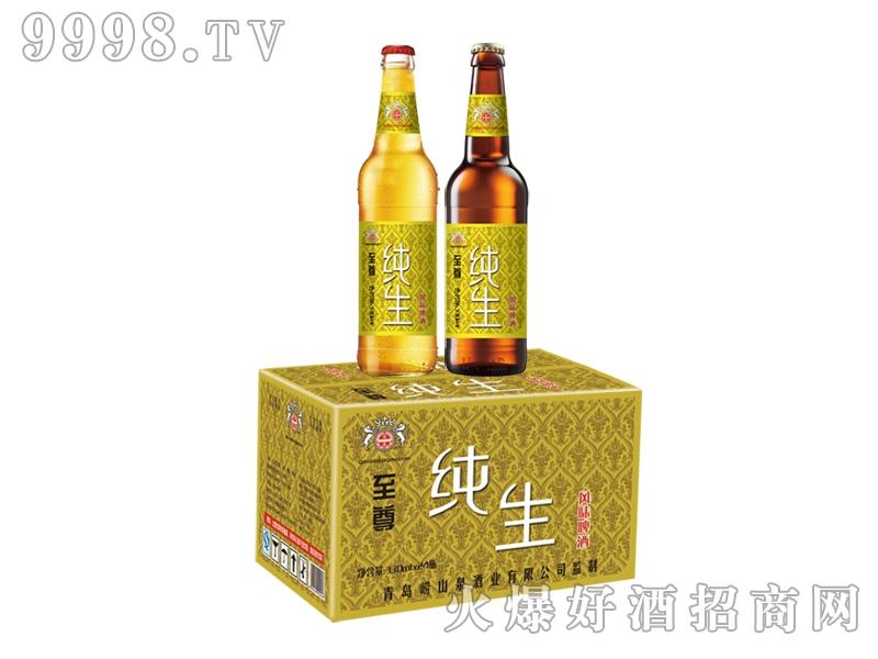 崂山泉330ml至尊纯生啤酒(1X24)