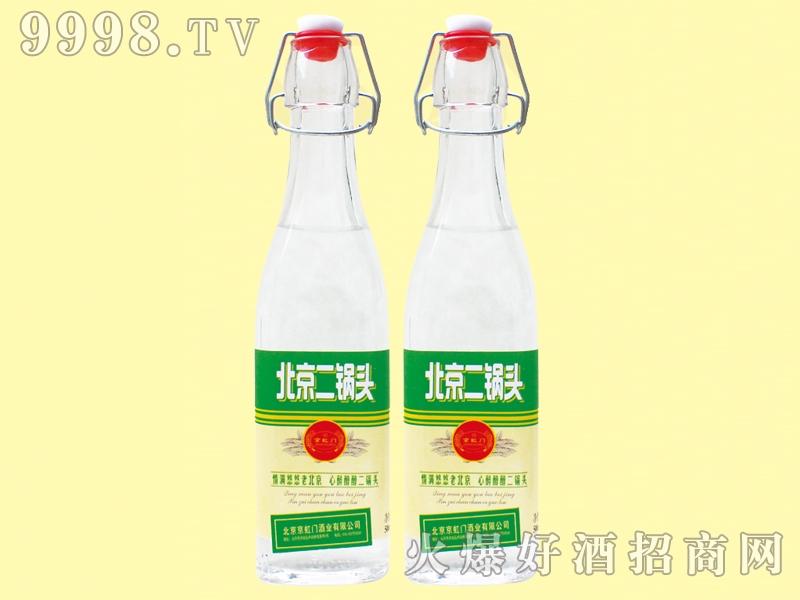 北京二锅头42度500ml绿