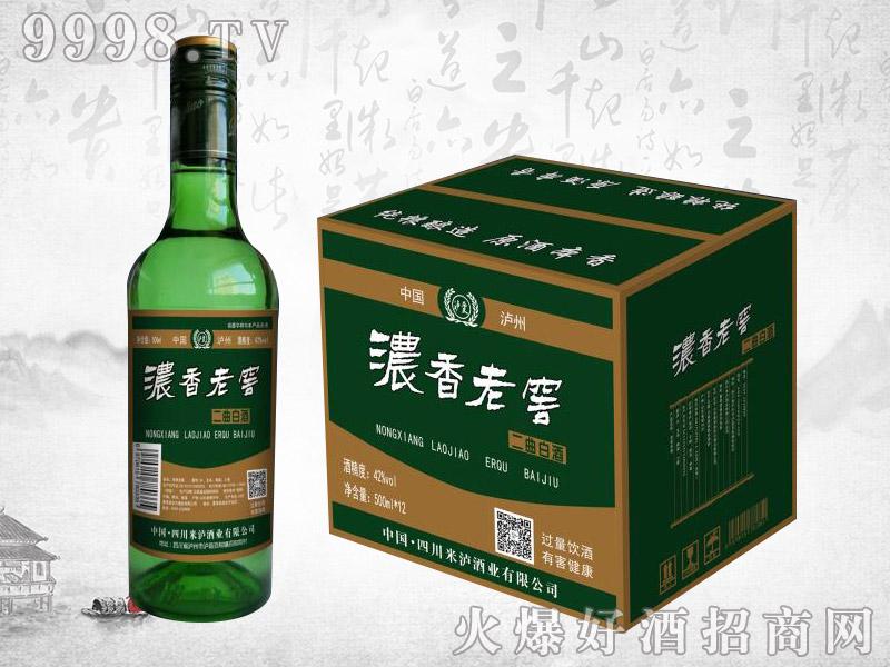 泸香老窖二曲酒42度500ml