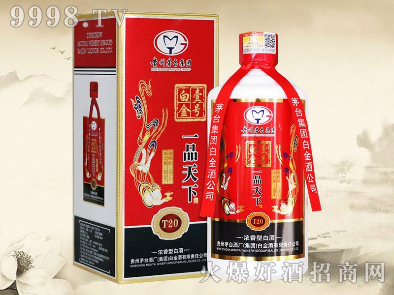 白金壹号一品天下酒T20(红)