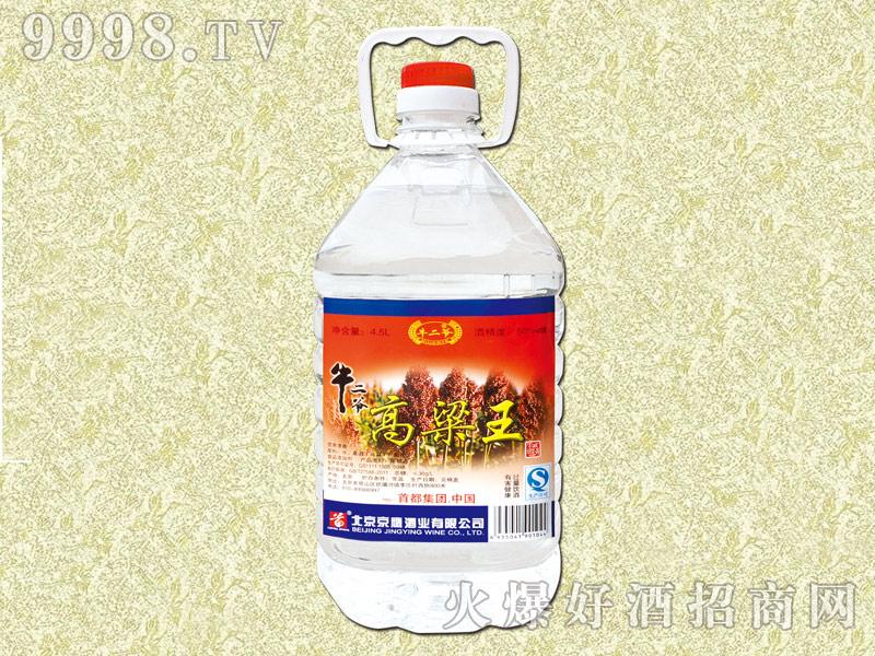 牛二爷高粱王酒50度4.5L