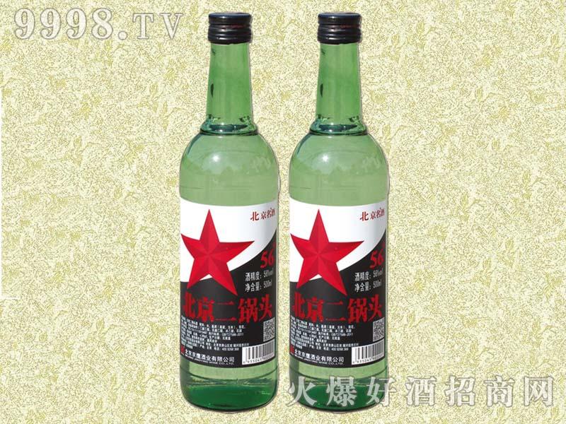 京名绿瓶二锅头500ml