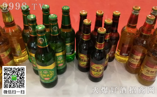 安徽绿草地酒业玛咖金樽系列啤酒