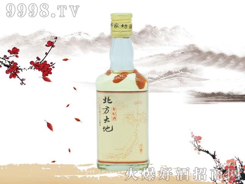 北方大地人参酒(扁瓶)