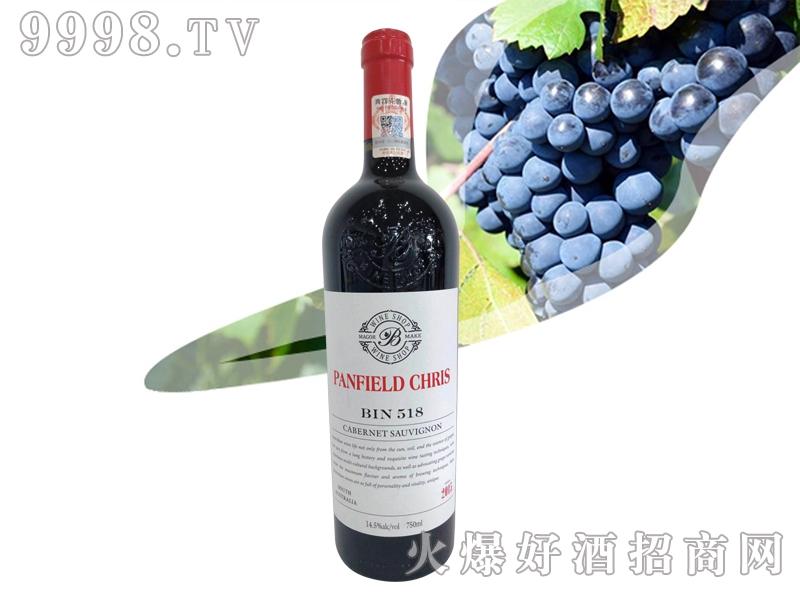 奔富克鲁斯518赤霞珠干红葡萄酒