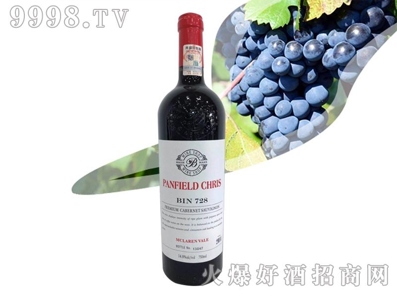 奔富克鲁斯728麦克拉伦谷臻品赤霞珠干红葡萄酒