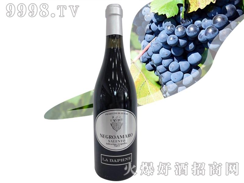 意大利达芬妮黑曼罗干红葡萄酒