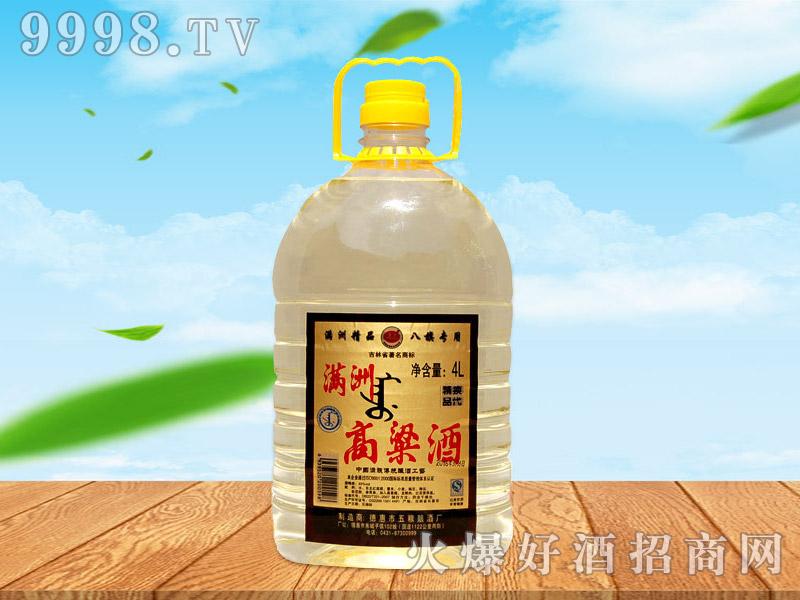 满洲高粱酒45°4L×4桶