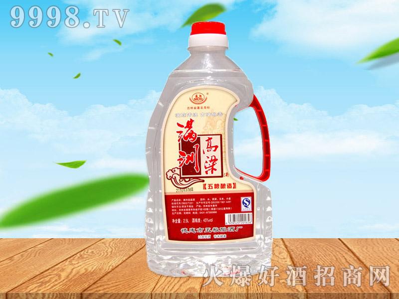 满洲高粱酒45°2.5L×6桶