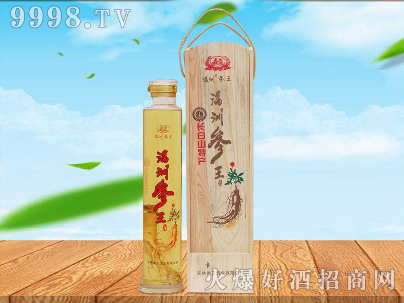 满洲参王酒2L(礼品木盒)