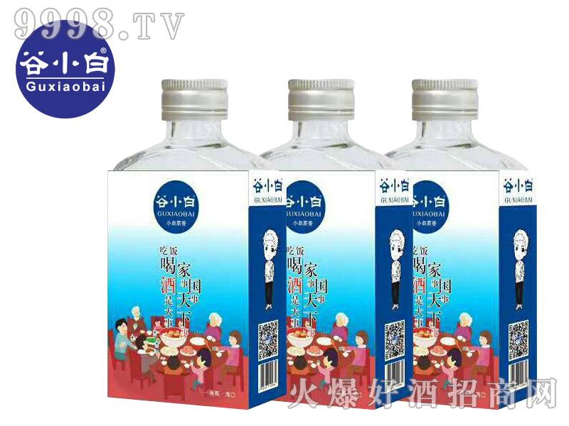 谷小白青春系列高粱酒(吃饭、喝酒是大事)