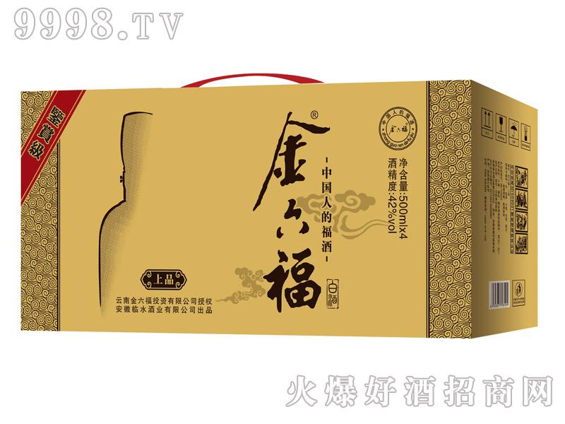 金六福酒・上品500mlx4