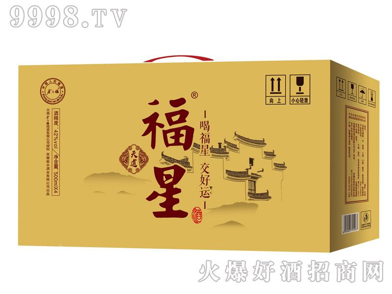 金六福福星酒・天道500mlx4