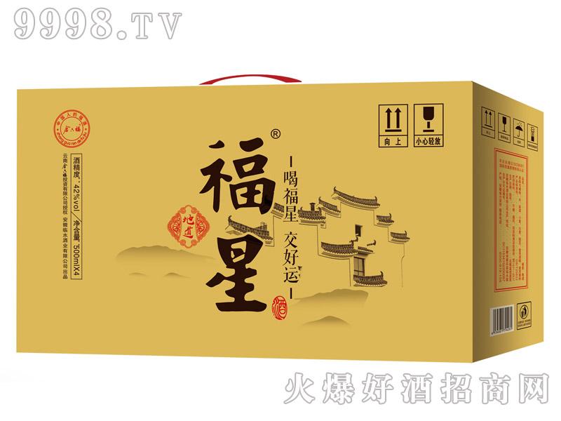金六福福星酒・地道500mlx4