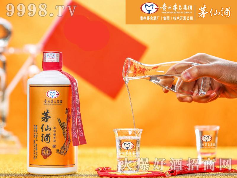 茅仙酒・醇香(斟酒)