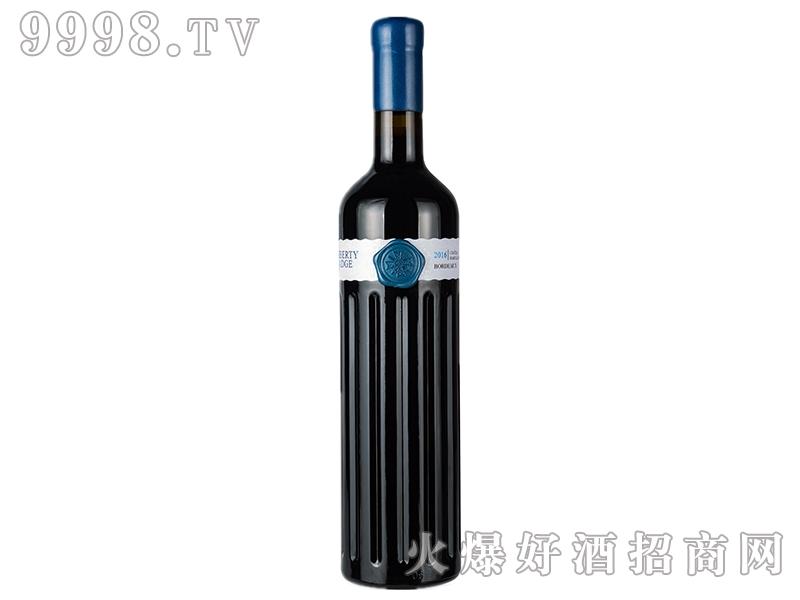 自由徽章蓝色妖姬干红葡萄酒