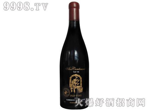 澳洲大陆老藤赤霞珠干红葡萄酒