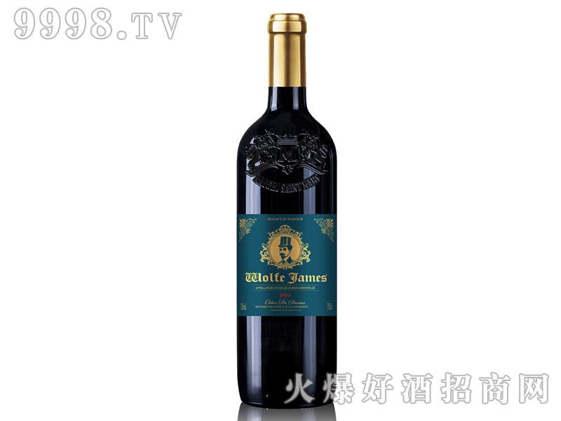 法国原瓶进口詹姆斯干红葡萄酒