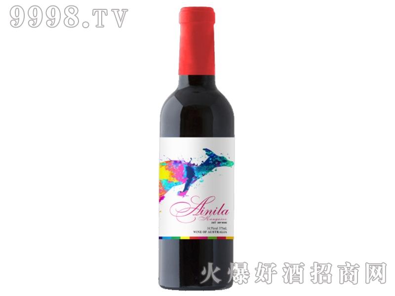 艾尼拉袋鼠西拉干红葡萄酒