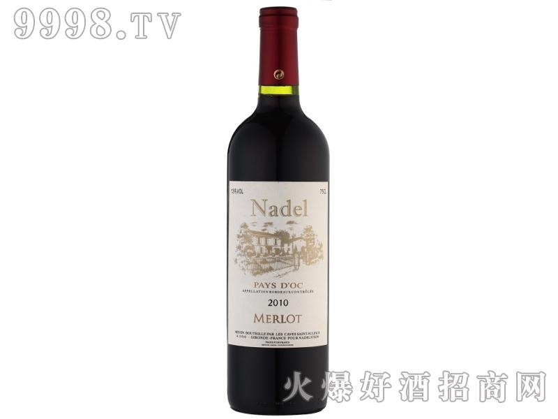 纳德美乐干红葡萄酒2010