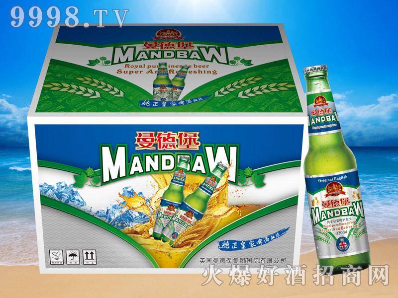 曼德堡纯正皇室啤酒330ml