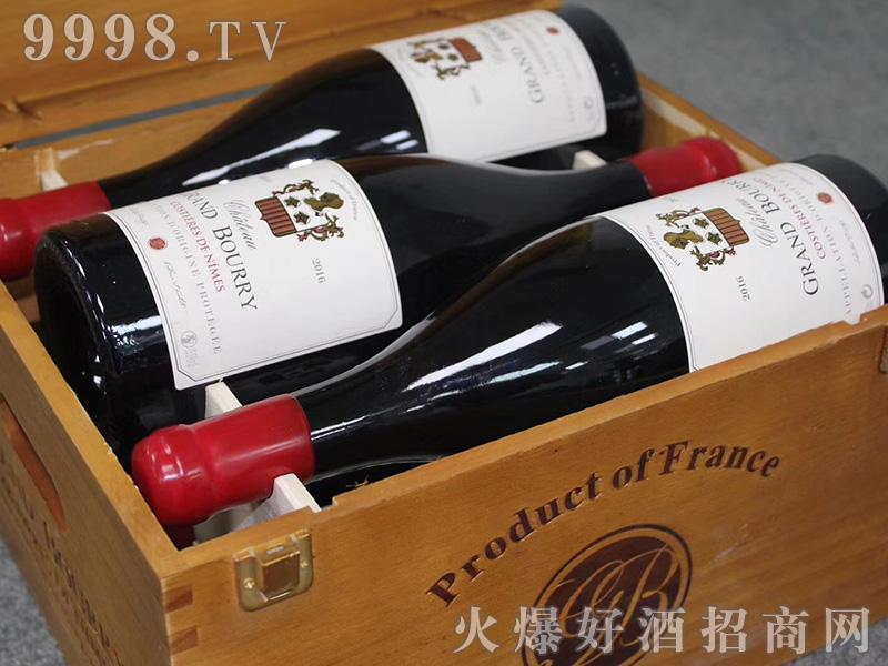宝丽古堡干红葡萄酒箱装