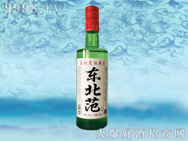 东北范经典绿瓶500ml