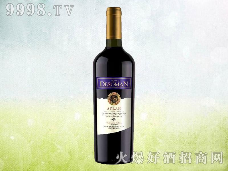 德索曼酒庄西拉干红葡萄酒