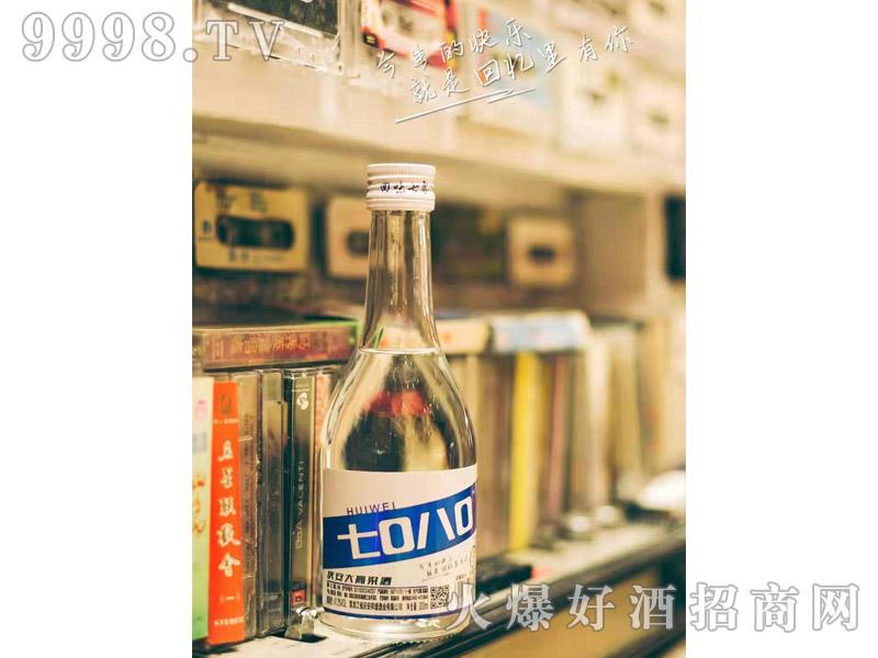 回味7080庆安大高粱酒300ML