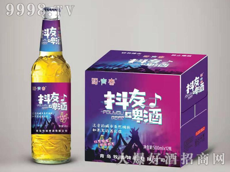 驿青春抖友啤酒500ml×12瓶