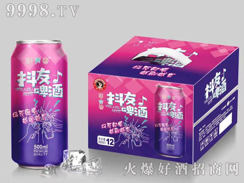 驿青春抖友啤酒500ml×12罐